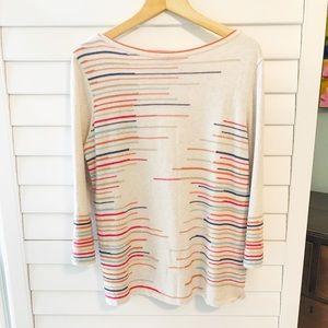 Multi-Color Lightweight Fall Sweater - XS